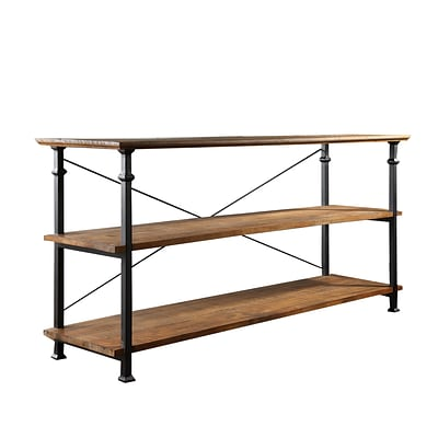 HomeBelle Vintage Industrial Modern Rustic TV Stand