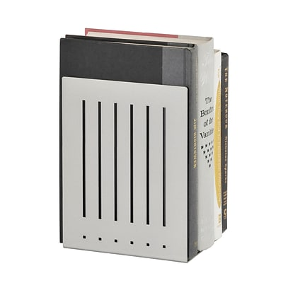MMF Industries™ STEELMASTER® 8 Heavy Duty Bookend, Silver