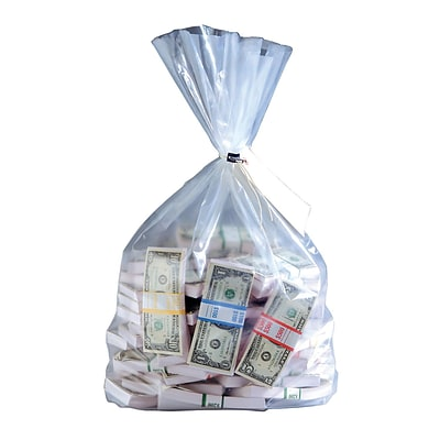 MMF Industries™ 36 x 19 Currency Deposit Bag, Clear