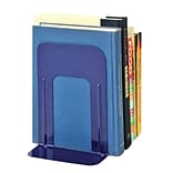 MMF Industries™ STEELMASTER® Soho Collection 9 Deluxe Bookend, Blue
