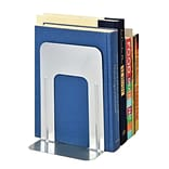 MMF Industries™ STEELMASTER® Soho Collection 9 Deluxe Bookend, Silver
