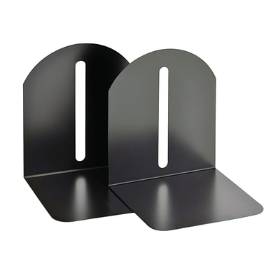 MMF Industries™ STEELMASTER® 7 Fashion Magnetic Bookend, Black