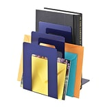 MMF Industries™ STEELMASTER® 5 3/8 Deluxe Sorter Square Bookend, Blue