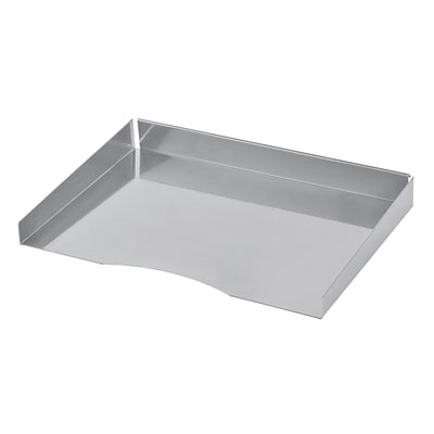 MMF Industries™ STEELMASTER® Slot System Components Paper Tray, Silver