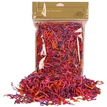 JAM Paper® Shred Tissue Paper Krinkeleen, 2 oz., Pink/Purple/Orange Mix, Sold Individually (11924298