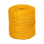 JAM Paper® Kraft Twine, 73 Yards, Yellow, Sold Individually (267820981)