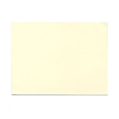 JAM Paper® Blank Note Cards, A6 size, 4 5/8 x 6 1/4, Natural White Impact, 500/box (48427B)
