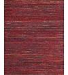 Feizy® Zambezi Art Silk and Backed Wool Cloth Transitional Rug; 5' x 8', Red/Multi