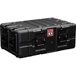 Pelican™ BLACKBOX-5U Double End Rackmount Case; Black