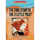 Scholastic The True Story of the Three Little Pigs!... and More Animal Adventures DVD