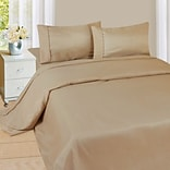 Trademark Global® Lavish Home 1200 Series 4 Piece Sheet Set, Queen, Taupe