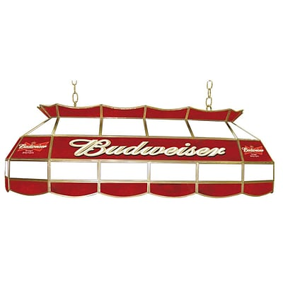 Trademark Global® 40 Stained Glass Pool Table Light, Budweiser®