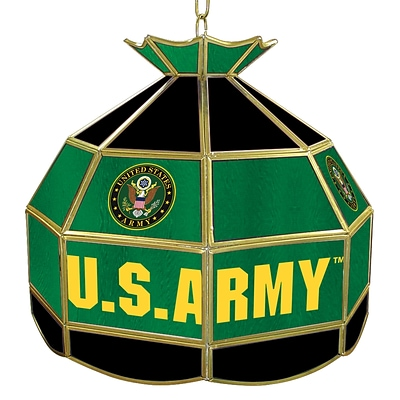 Trademark Global® 16 Tiffany Lamp, U.S. Army Symbol