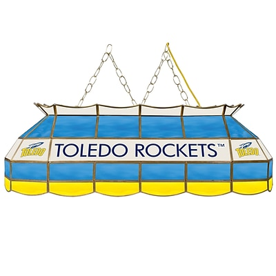 Trademark Global® 40 Stained Glass Tiffany Lamp, University of Toledo™ NCAA