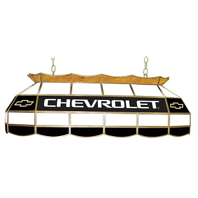 Trademark Global® 40 Chevy Bowtie Stained Glass Lighting Fixture, Chevrolet