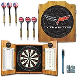 Trademark Global® Solid Pine Dart Cabinet Set, Corvette Model C6