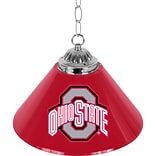 Trademark Global® 14 Single Shade Bar Lamp, Red, The Ohio State University NCAA