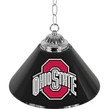 Trademark Global® 14 Single Shade Bar Lamp, Black, The Ohio State University NCAA