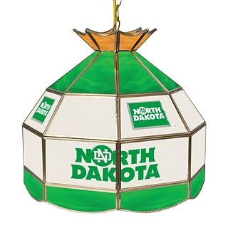 Trademark Global® 16 Stained Glass Tiffany Lamp, U of North Dakota NCAA