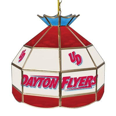 Trademark Global® 16 Stained Glass Tiffany Lamp, University of Dayton NCAA
