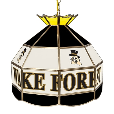 Trademark Global® 16 Stained Glass Tiffany Lamp, Wake Forest University NCAA