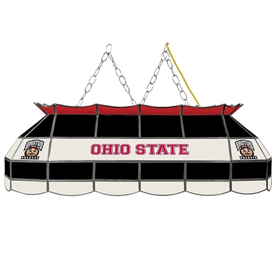 Trademark Global® 40 Stained Glass Tiffany Lamp, The Ohio State NCAA, Brutus