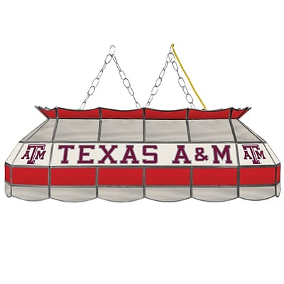 Trademark Global® 40 Stained Glass Tiffany Lamp, Texas A&M® University NCAA