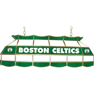 Trademark Global® 40 Tiffany Lamp, Boston Celtics NBA