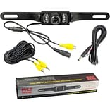 Pyle® License Plate Mount Rear View Camera With Night Vision