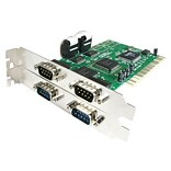 Startech PCI4S550N 4 Port PCI RS232 Serial Adapter Card With 16550 UART