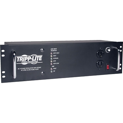 Tripp Lite LCR2400 14-Outlet 1440 Joule Rack Mount Line Conditioner With 12 Cord