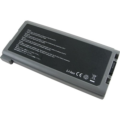 V7® PAN-CFVZSU46AU 7800mAh Notebook Battery For Panasonic Toughbook CF-30 Series Notebooks; Black