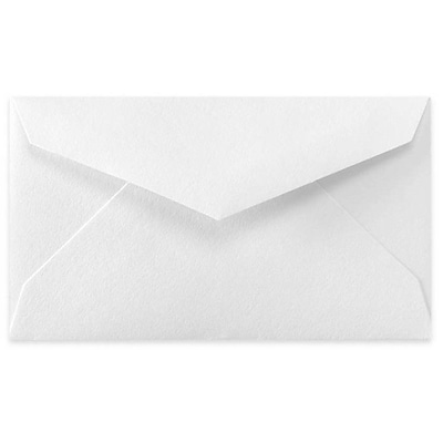 LUX® 70lb 2 1/8x3 5/8 Regular Flap Mini Envelopes W/Glue, Bright White, 1000/BX