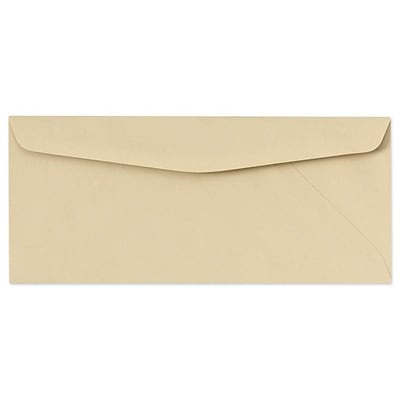 LUX® 24lbs. 4 1/8 x 9 1/2 #10 Pastels Regular Envelopes, Tan, 250/BX