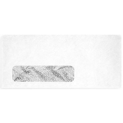 LUX® 24lbs. 3-7/8 x 8-7/8 #9 Window Envelopes, White With Security Tint, 500/BX