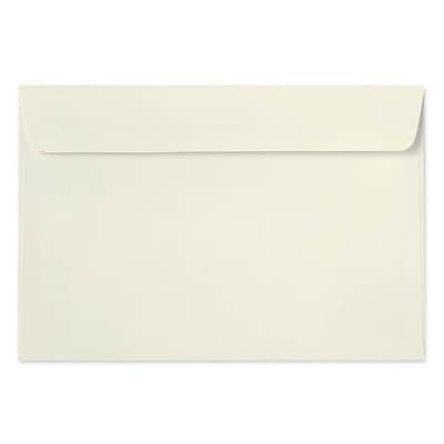 LUX® 24lbs. 10 x 13 Rectangular Flap Booklet Envelopes, Natural, 250/BX