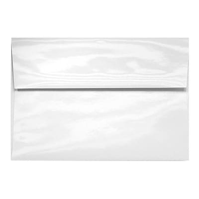 LUX A6 Invitation Envelopes (4 3/4 x 6 1/2) 250/Box, Glossy White (5875-GL-250)