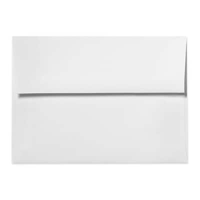 LUX A1 Invitation Envelopes (3 5/8 x 5 1/8) 500/Box, White - 100% Recycled (4865-WPC-500)