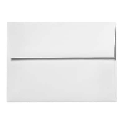 LUX A1 Invitation Envelopes (3 5/8 x 5 1/8) 500/Box, Bright White - 100% Cotton (4865-SW-500)