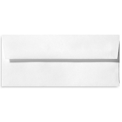 LUX® 80lb 4 1/8x9 1/2 Square Flap Recycled Envelopes, White, 500/BX