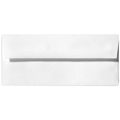 LUX® 24lbs. 3 7/8 x 8 7/8 #9 Regular Envelopes, White Linen, 1000/BX