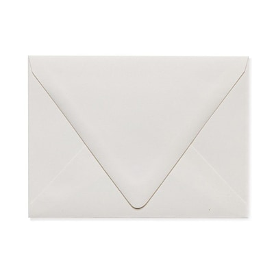 LUX A6 Contour Flap Envelopes (4 3/4 x 6 1/2) 500/Box, Natural - 100% Recycled (1875-NPC-500)
