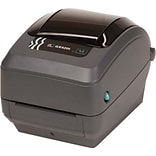 Zebra® G Series 203 dpi 6 in/s Direct/Thermal Transfer Monochrome Label Printer