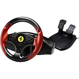 Thrustmaster® 4060052 Red Legend Edition Ferrari Racing Wheel For PlayStation 3; Red/Black