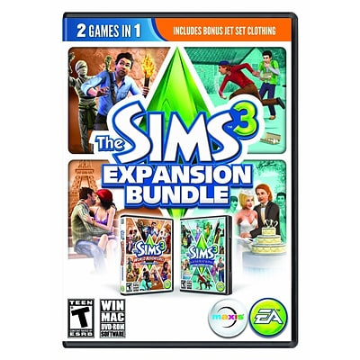 Electronic Arts™ 73123 Sims 3 Expansion Bundle; PC