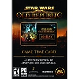 Electronic Arts™ 19796 Star Wars The Old Republic Prepaid Time Card Game; Role Playing, PC