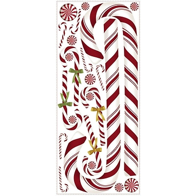 RoomMates® Candy Cane Peel and Stick Giant Wall Decal, 18 x 40