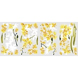 RoomMates® Yellow Flower Arrangement Peel and Stick Wall Decal, 18 x 10