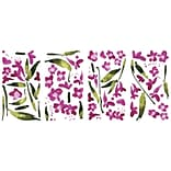 RoomMates® Fuchsia Flower Arrangement Peel and Stick Wall Decal, 18 x 10