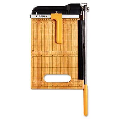 Fiskars® 15 Sheet Bypass Bamboo Trimmer; 12(L) Cut